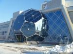 Вести с родины. Архитектор Александр Ложкин комментирует возведение крытой футбольной арены в Новосибирске