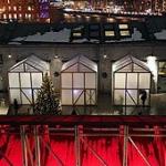 «Тепляки» Александра Бродского: символ зимы светит на «Стрелке»