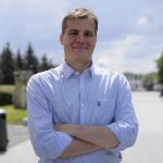 Вице-президент компании GRAPHISOFT Андраш Хайдеккер. Фотограф Алексей Полукаров