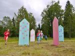 Возрождение села началось с детской площадки
