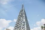 Треугольный небоскреб Pyramid Tower построят в Иерусалиме