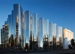 Кинетическая архитектура: музей с потрясающим меняющимся зеркальным фасадом