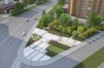 Большую Академическую улицу в Москве благоустроят в концепции «лоскутного одеяла»