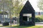 Домик площадью всего 8 кв. метров - как вариант временного жилища для обездоленных