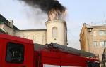 Ремонтные работы привели к возгоранию крыши памятника архитектуры в Благовещенске
