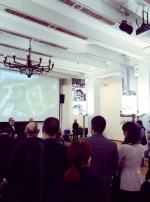 Открытие выставки ретроспективы работ архитектурной мастерской Виссарионова. Фотография © ООО «РОТО ФРАНК»