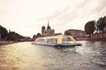 Итальянская студия придумала для Парижа плавучий тренажёрный зал на мускульной тяге