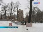 В Стрельне завершили реставрацию Башни-руины