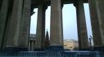 Казанский собор после мокрого снега снова покрылся пятнами