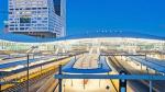 Три в одном: поезда, автобусы и трамваи под одной крышей на новом вокзале в Утрехте