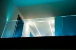 Ограждения лестницы и второго света для частого дома в КП «ИмпериалЪ». Фото предоставлено Студией Архитектуры Подвижного Стекла ЮБК