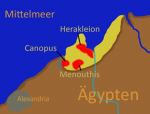 «Египетская Атлантида»: На дне Средиземного моря нашли два легендарных города