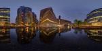 Сферическая фотопанорама нового корпуса галереи Тейт Модерн по проекту Herzog & de Meuron
