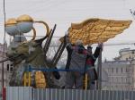 У грифонов на Банковском мосту сняли крылья