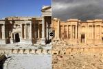 Римский театр в Пальмире. До и после захвата террористами