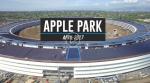 Новую штаб-квартиру Apple в Калифорнии сняли с беспилотника