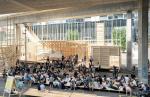 Архитектура: Деревянный «гайд-парк» под эстакадой в Швейцарии