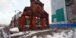 На Парфеновской снесли фасад сохраненного пакгауза Варшавского вокзала