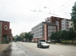 Деловой центр на Новорязанской улице (на территории завод «Мосавтотех»)