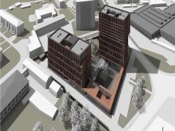 Предпроектное предложение строительства жилого комплекса на Новоалексеевской улице в Москве (Эгодом)