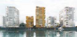 Жилые башни в Баакенхафен