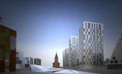 Архитектурно-градостроительная концепция реконструкции и новой застройки жилого квартала между улицей Ленина и озером Солдатское в центральной части Уфы
