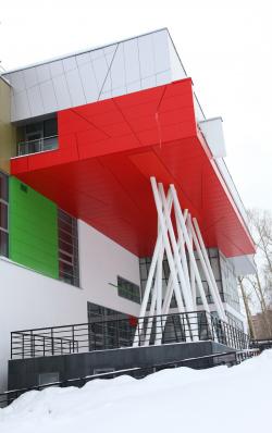 Спорткомплекс училища олимпийского резерва
