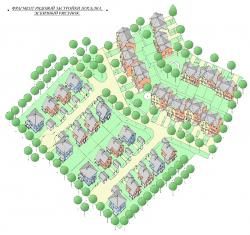 Проект планировки и застройки территории коттеджного поселка «Зенит» в окрестностях г. Санкт-Петербург