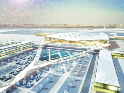 "Concept of the passenger terminal ""Yuzhny"" in Rostov-on-Don"