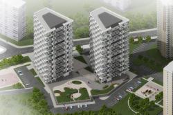 Архитектурно-градостроительное решение корпусов номер 5 и 6 жилого комплекса «Нагорная»