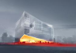 Конкурсный проект административного комплекса на улице Варшавская