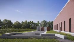 Променад Алваро Сиза на кампусе Vitra