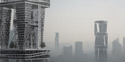 Опыт вертикального города