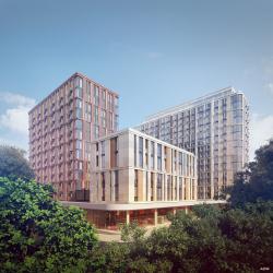 Многофункциональный жилой комплекс на Воробьевском шоссе