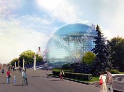 Павильон Атомной Энергии на ВДНХ. Концепция – победитель конкурса