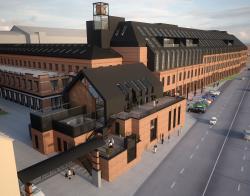 Реконструкция фабрики «Даниловская мануфактура» под деловой центр LOFT (корпус «Мещерина»)