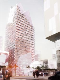 Офисная башня в Финансовом центре Касабланки