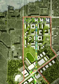 Архитектурно-градостроительная концепция административно-общественного центра в г. Комсомольск-на-Амуре