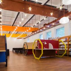 Коворкинг библиотеки Блохинцева в Дубне