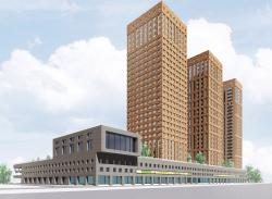 Многофункциональный жилой комплекс в Екатеринбурге