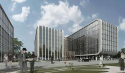 Комплекс офисных зданий в Автомобильном проезде