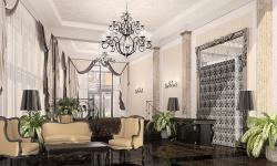 Интерьеры общественных зон жилого комплекса на ул. М. Пироговская