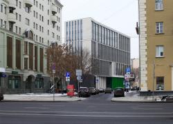 Деловой центр на улице Красина