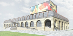 Концепция реконструкции рынка на площади Единства и Согласия в Тюмени