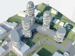 Многофункциональный жилой комплекс в Ялте