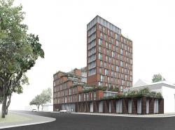 Архитектурная концепция гостиницы 4* в Краснодаре