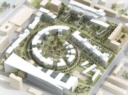 Реконструкция территории завода «Каучук». Конкурсное предложение