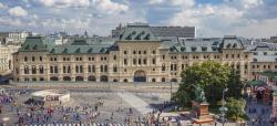 Какими после реставрации будут Средние торговые ряды на Красной площади