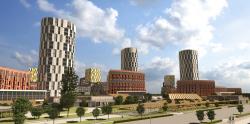 Архитектурно-градостроительная концепция застройки в Нагатинской пойме