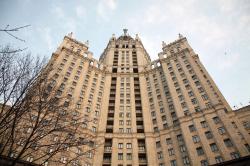 Ар-деко и историзм в архитектуре московских высотных зданий